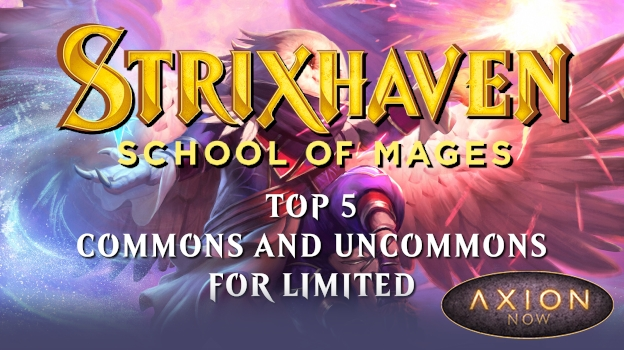 Strixhaven Top 5 Commons and Uncommons for Limited Promo Image