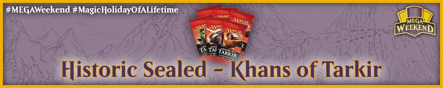 Historic Sealed - Khans of Tarkir Image