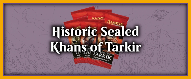 Historic Sealed - Khans of Tarkir Preview Image