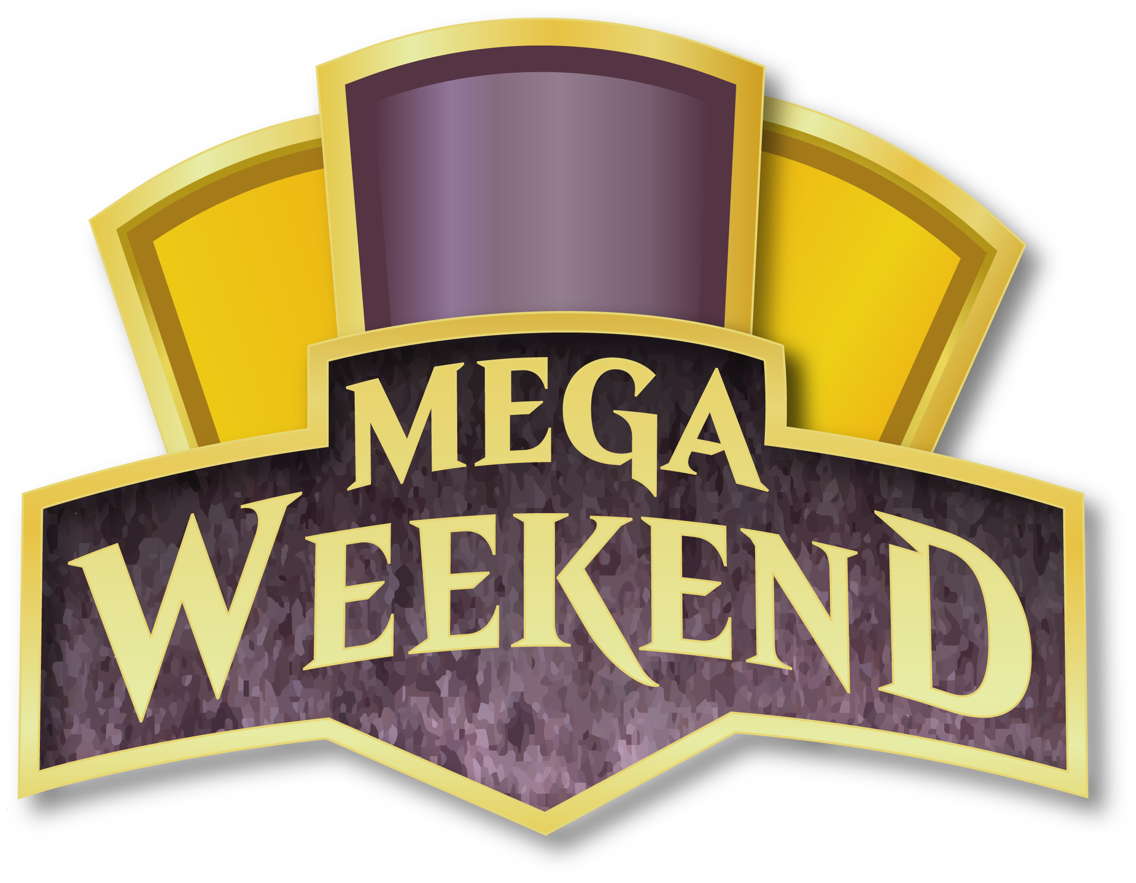 Mega Weekend Event Logo